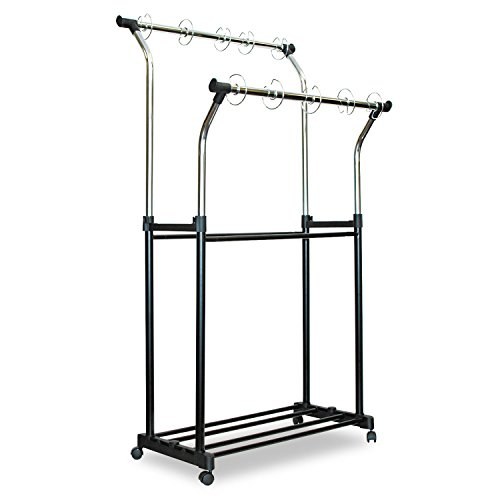 Carson-Dellosa 158004 Double Pocket Chart Stand, 23''x25'', Height 42''-68'', CE/BK by MyDirectAdvantage