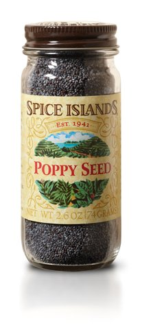 Spice Islands Poppy Seed, 2.6-Ounce (Pack of 6) by B&G Foods