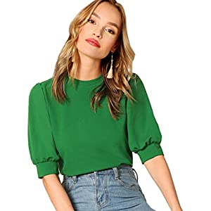 Puff Sleeve Casual Top