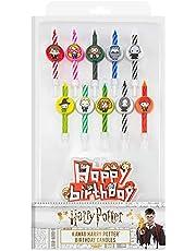 Cinereplicas Harry Potter - Kaarsen Karakters (Set van 10 + 1 Gelukkige Verjaardag) - Officiële licentie