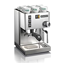 Rancilio Silvia Espresso Machine, Iron Frame And Stainless Steel Side Panels, 12oz Boiler, 58mm Porta Filter, 2 Quart Water Reservoir, 11.4 By 13.4-inch