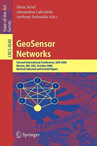 GeoSensor Networks: Second International