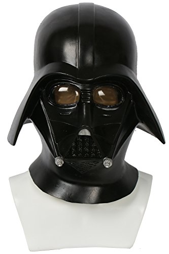 xcoser Darth Vader Helmet Mask Costume Props Accessories Deluxe Latex (Darth Helmet Vader Deluxe)