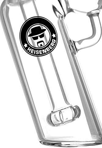 Heisenberg Vork/ühler Shower Precooler 18//8 f/ür Glasbongs