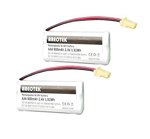 (Areotek BT183342 BT283342 BT166342 BT266342 BT162342 BT262342 Battery Compatible with VTech CS6114 CS6419 CS6719 AT&T EL52300 CL80112 VTech CS6719-2 Cordless Phone and Handset (2-Pack))