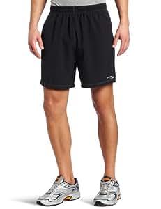 Saucony Men's Alpha Short, Black, Small