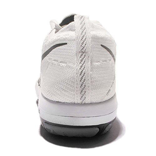 white Sneakers Flyknit Free wolf grey Running 7 5 metallic 833410 Transform Womens nike Trainers silver US 101 Shoes 7qAwBA