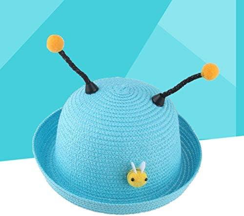 Prettyia Fashion Men Kidsn/'s with Multi Color Tassels Straw Cap Beach Summer Hat