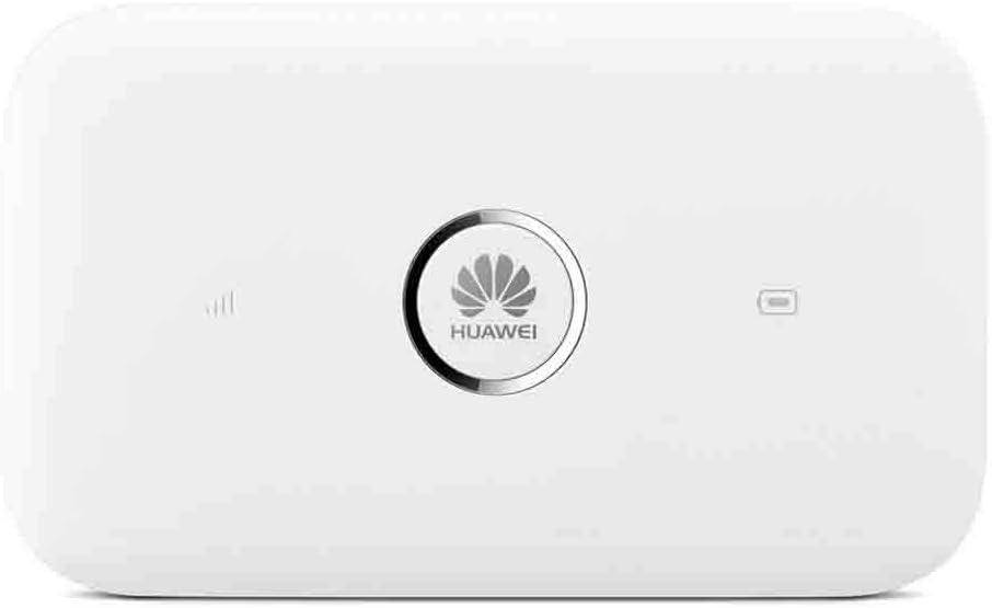 Huawei E5573C – Wi-Fi móvil (150Mbps de Velocidad de Descarga, Wi-Fi Hotspot/Router de bajo Consumo energético, Ranura de Tarjeta SIM, hasta un máximo de 10 usuarios, 1 Usuario vía USB), Blanco