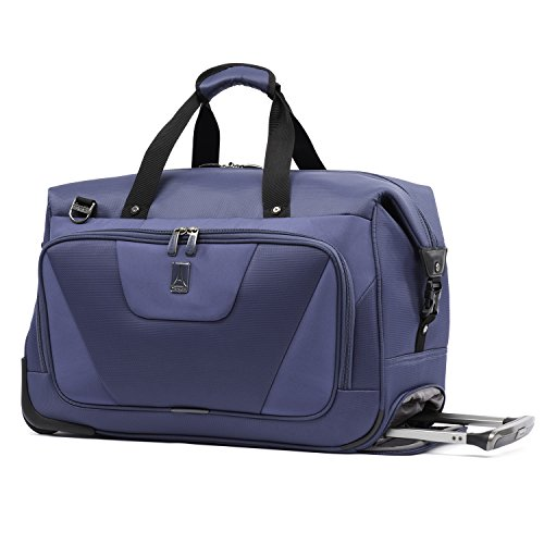 Travelpro Maxlite 4 Carry Rolling Duffel, Blue, One Size by Travelpro