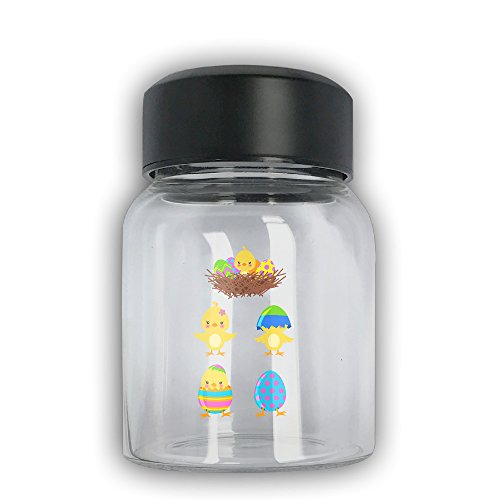 Easter Chicks Set Sports Glass Water Bottle Fashion Camping Bottle - Chick With Glasses Hot