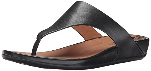 FitFlop Women's Banda Sandal, Black, 7 M US by FitFlop