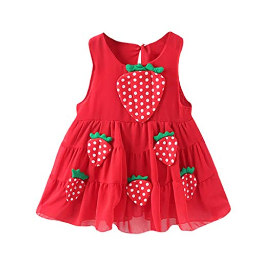 Baby Girls Ball Gowns Wedding Birthday Party Dresses Princess Appliques Strawberry Casual Dress Clothes Toponly