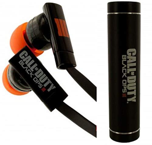 CALL OF DUTY Black Ops III Earbuds and 1500 mAH Powerbank Set