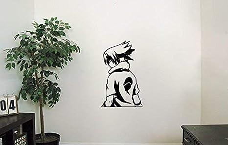 Amazon.com: Uchiha Sasuke Vinyl Wall Decals Ninja Konoha ...