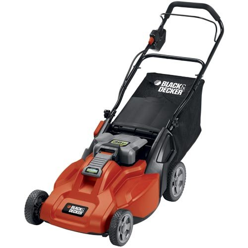 Black and Decker CM1936 Cordless Electric Lawn Mower