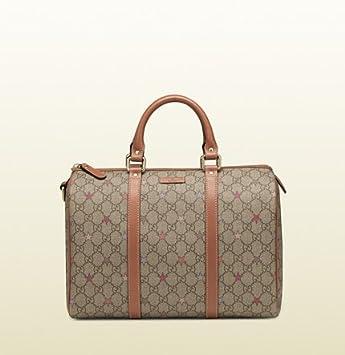 gucci joy gg supreme canvas boston bag 8878 amazon co uk luggage