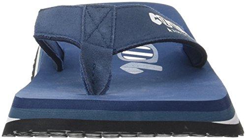 Sandali Uomo Blu Cool Denim Shoes 00249 A5qWwC7x