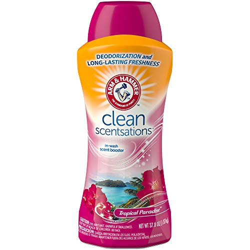 Arm & Hammer Clean Scentsations in-Wash Freshness Booster, Tropical Paradise, 37.79 Ounce