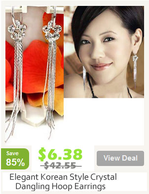 Korean Fashion Dangling Earrings