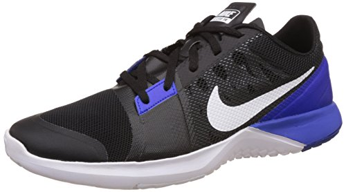 Cheap NIKE Men's FS Lite Trainer 3 Training Shoe Black/Racer Blue/Anthracite/White Size 8.5 M US
