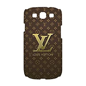 Louis with Vuitton Phone Case Classic Luxury 3D Phone Case for Samsung Galaxy S3 I9300 with Louis with Vuitton Logo