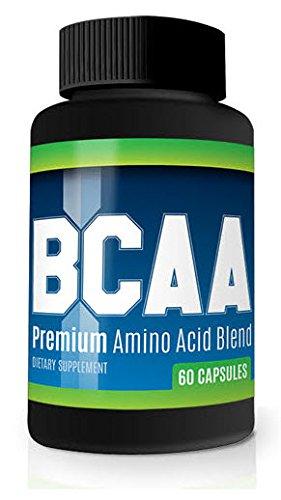 BCAA acides aminés force maximale de 1 600 mg supplément de culturisme - pillules de perfectionnement de Muscle - maximiser la croissance musculaire, force, endurance & Recovery (1)