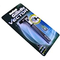 Gillette Vector Razor with Blade Fits Contour / Atra Refill Cartridge