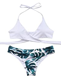 Womens Padded Push-up Bikini Set Bathing Suits Two Pieces Swimsuit