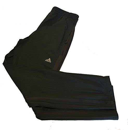 Adidas Mens Weekender Athletic Training Drawstring Waist Pants, Grey, Large