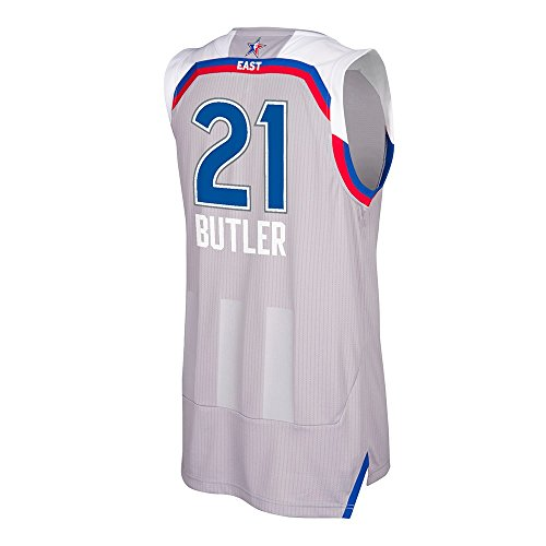 Jimmy Butler #21 2017 Eastern Conference All Star Swingman Adult Jersey (Small)