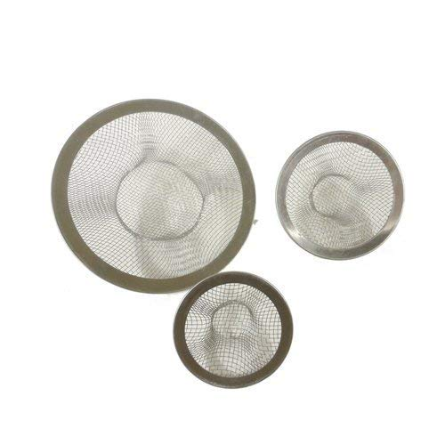 EZ Travel Collection Mini RV Sink Strainers Bar Drain Strainer (3-Pack)