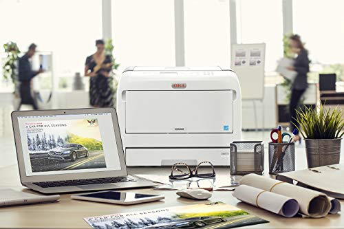 Amazon.com: OKI C800 C833n LED Printer - Colour - 1200 x 600 ...