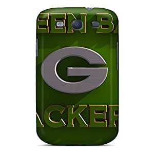 Galaxy High Quality Tpu Case/ Green Bay Packers FUx1393ZyGT Case Cover For Galaxy S3 by kobestar