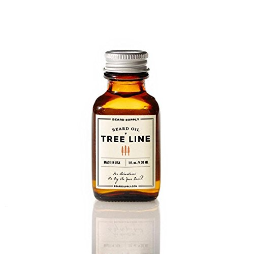 Premium Organic Beard Oil by Beard Supply. All Natural Leave In Conditioner. Promotes Growth, Keeps Your Beard Soft And Smells Great. Treeline Scent (1oz)