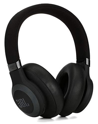 JBL Lifestyle E65BTNC Over-Ear Bluetooth Noise-canceling Headphones – Black