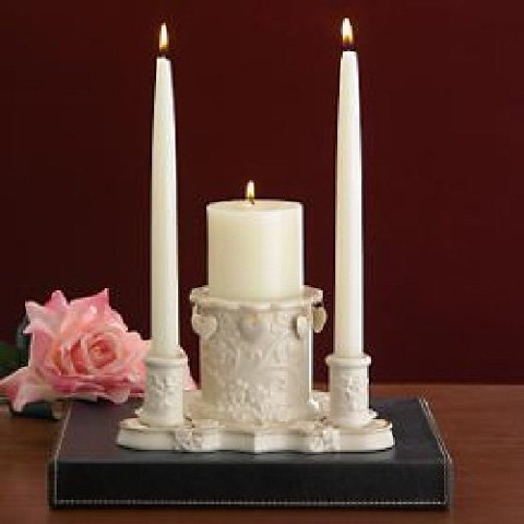 Lenox Floating Hearts Unity Candleholder by Lenox