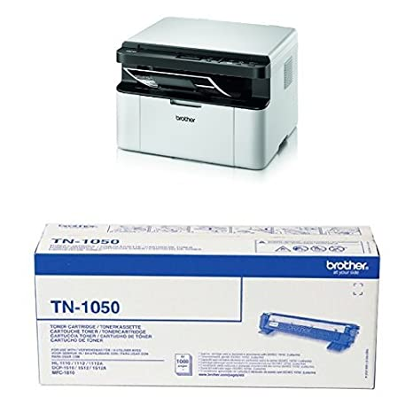 Brother DCP1610W - Impresora multifunción láser monocromo: Amazon ...
