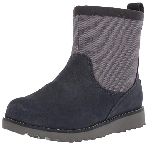 UGG Boys' K BAYSON II CWR Snow Boot, Navy, 13 M US Little -