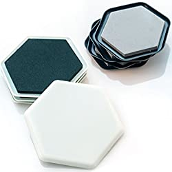 Mysonder Furniture Sliders - Reusable Felt Pads for Easy Moving of Heavy Furniture - Great for Tables, Sofas, Beds, Dressers & Appliances on Hardwood/Ceramic/Tiled Floors & Carpeted Surfaces