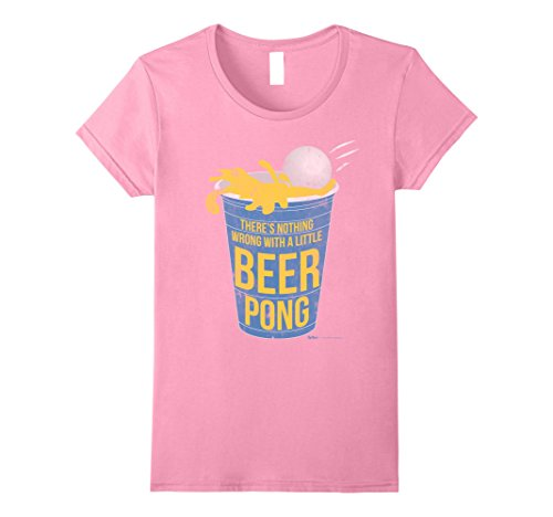 Womens There is Nothing wrong with a little Beer Pong Champ T Shirt Medium (Beer Pong Womens Pink T-shirt)