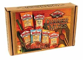 LOUISIANA Fish Fry Products Dinner Mixes Gift Box (Dinner Fish)