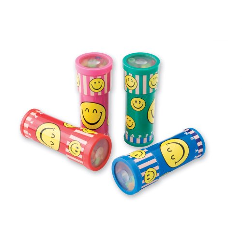 Smiley Kaleidoscopes - 24 per Pack (Kaleidoscope Toy)
