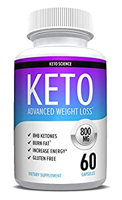 Exogenous Ketone Pills That Work - for Women & Men - Weight Loss Supplements to Burn Fat Fast - Boost Energy and Metabolism - Best Ketosis Supplement - Nature Driven - 60 Capsules
