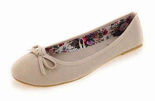 Quick-Schuh Women's 1000022 Court Shoes Beige - Beige pIfQ0M