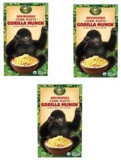 Envirokidz Organic Cereal Kid Gorilla Munch, Pack of 3 - Envirokidz Organic Gorilla