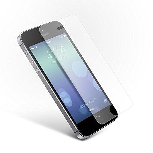 Coolreall Ultra-klar Panzerglas Schutzfolie für iPhone 5 5C 5S SE 5SE(0,33mm)