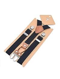Unisex Kid Boys Girls Adjustable Suspender Sets