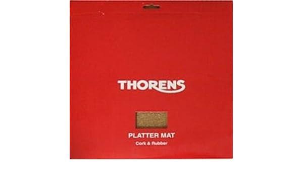 Thorens Platter Mat - Cork & Rubber: Amazon.es: Electrónica