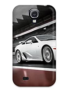 MEIMEICute High Quality Galaxy S4 Lexus Car And Background CaseMEIMEI